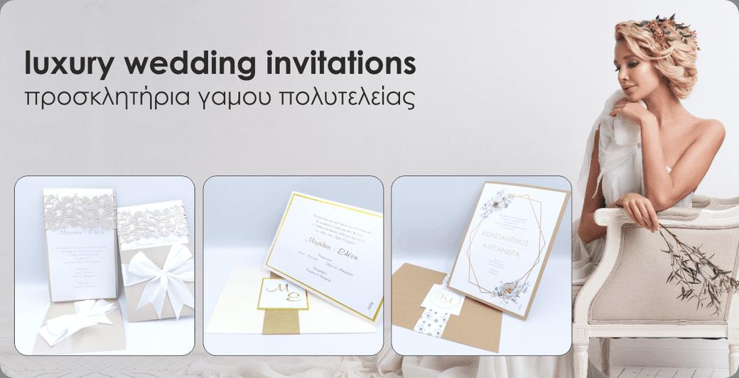 Luxury wedding invitations newage